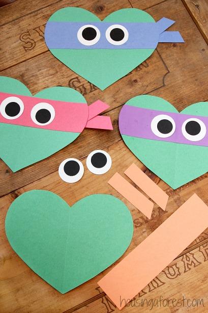 valentines-day-ninja-turtle-craft-for-kids-heart-shaped-teenage-mutant-ninja-turtles-1